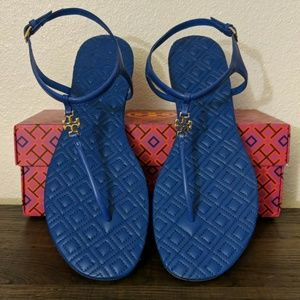 Brand New Tory Burch Marion Quilted Sandals